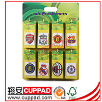 new product yiwu hookah scented promotional paper air freshener china facotry,paper smell for car