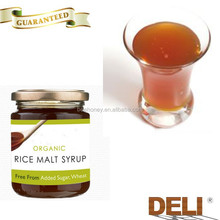 HACCP quality sweetener organic brown rice syrup