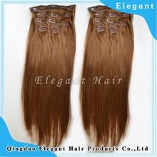 Ali express hair grade 10A brazilian virgin hair 28 inch clip on human hair extensions