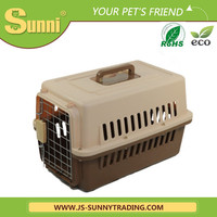 Air pet carrier high quality pastic kennels for dog