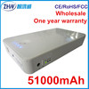 High capacity power bank for laptop,51000mAh universal power bank for laptop