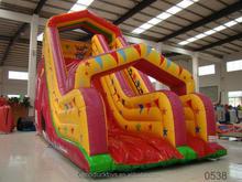 waterslide commerical grade pvc inflatable wet slip