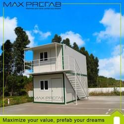 Portable modular container hotel & living container home