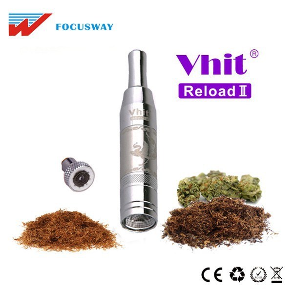 New Arrival e pipe for sale dry herb ceramic for weed e cig Seego Vhit Reload II