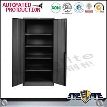 office modern simple design black steel cupboards/metal filing cabinets/steel book cabinets