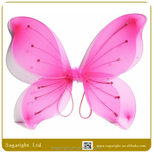 Hot Sell Cheap Pink Angel wings butterfly fairy wings for girl