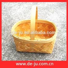 made in china di accumulo rettangolare piccola piazza cesto di frutta maglieria cestini