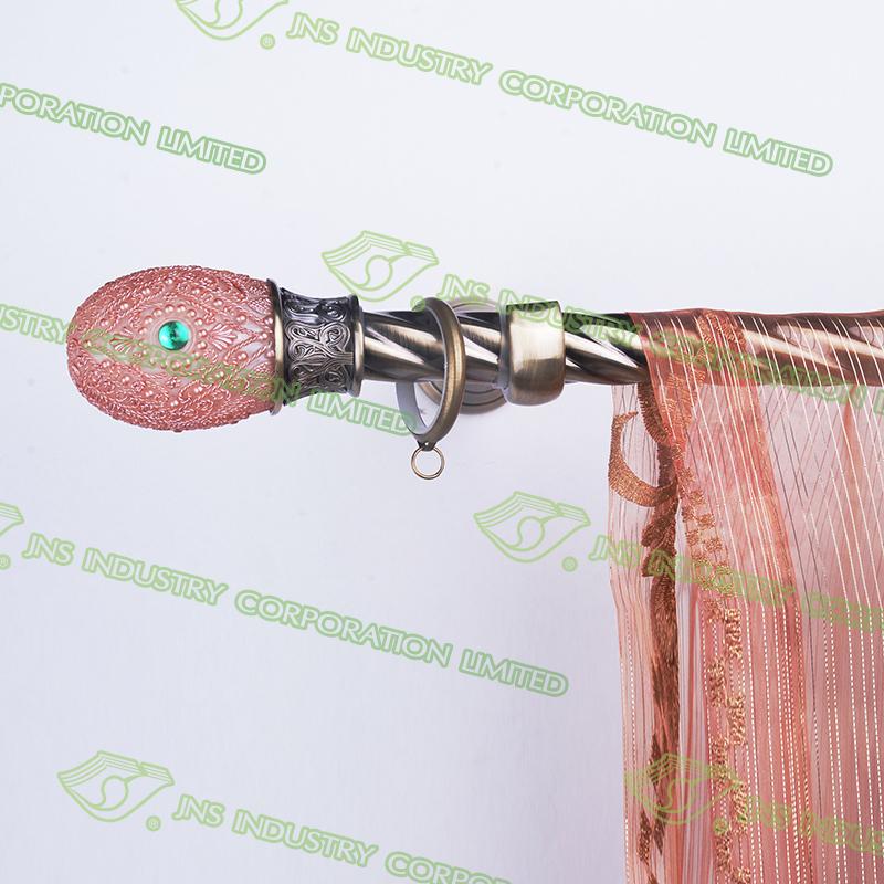 ... shape shower curtain rod,length 4m curtain pole,curtain rod wood color
