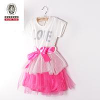2011 kid new design dress pure color childrens fancy dress costumes