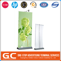 New Coming Cost Effective Customized Logo Printed Metal Material Ceramic Display Stands