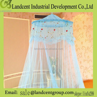 Polyester treated insecticide bed canopy /mosquito net/mosquitero/moustiquaire /mosquiteiro for double bed