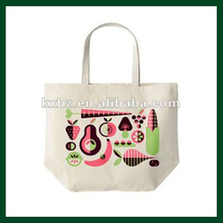custom printing canvas tote shopping bags with low price