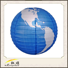 2015 fashion design earth design Paper Lantern/paper lanterns for christmas