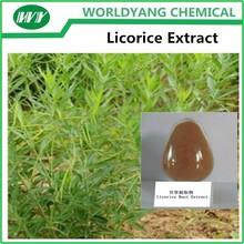 100% natural Licorice Extract /98%(HPLC) Glycyrrhizic acid CAS 1405-86-3