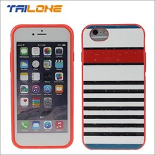protective cute design bumper handphone case for iphone 6 plus case custom