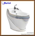 mercadorias sanitários banheiro de luxo decalque cerâmica bidé inteligente