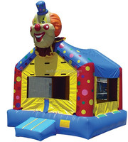 Clown Inflatable Show Jumping Jumps