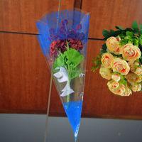 plastic opp sleeve for flower packaging