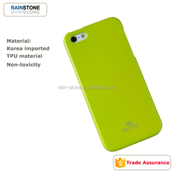 Soft TPU case for iPhone 5 jelly cell phone cover
