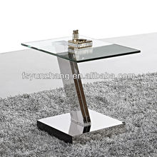 clear green tempered glass coffee table