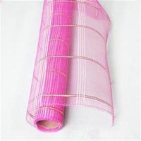 Poly Flower Wrapping Mesh Ribbon