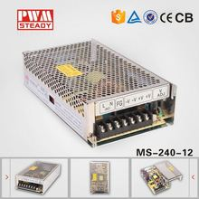 CE 240W 12V 20A SMPS led power supply 12 volt 240 watt switching mode power supply for led