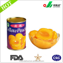 425g/850g/3000g wholesale canned yellow peach