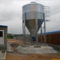 Broiler alimentación de aves de corral silo