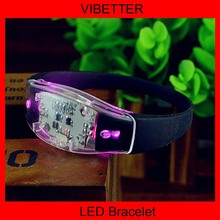 Party favor PVC LED wristband