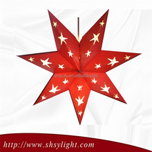 decorative paper stars for family use