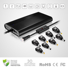 new things for sell, 90W Universal Laptop AC Adapter with Crystal head and LCD