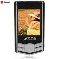 "NEW Portable 8GB 8G Slim Black 1.8"" MP3 MP4 Mic Player w/ FM Radio Function High Quality"