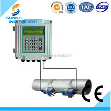 SUN-200S Clamp on Ultrasonic flow meter water/ultrasoic flow meter/diesel flow meter(CE approved)