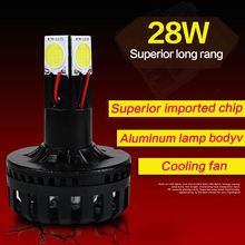 9-80V 12-28W motorcycle headlight imported chip 6000K white light electric scooter led light rear lights motorcycle