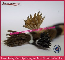 6A grade double drawn 100% human hair no mix high quality wholesale brazilian nano ring hair extensions
