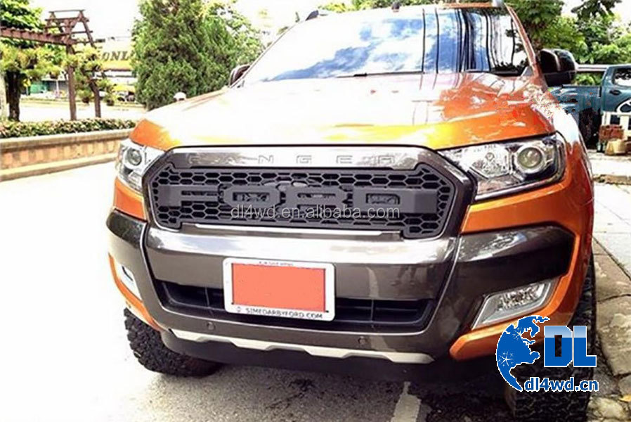 2015 2016 ford accessories auto front grille for ford ranger wildtrak buy auto front grille