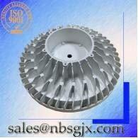 China wholesale all sizes customizable high bay lamp shades aluminium reflector