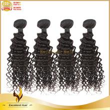 Wholesale Malaysian Curly Hair Extension Natural Color 100% Human Hair Bundles