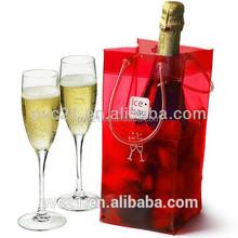 Wholesales professional factory price hot sale wine cooler bag PVC wine bag