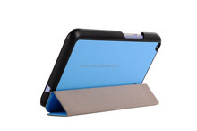Factory price ultra-thin flip pu leather protective case cover for Acer Iconia Talk S A1-724