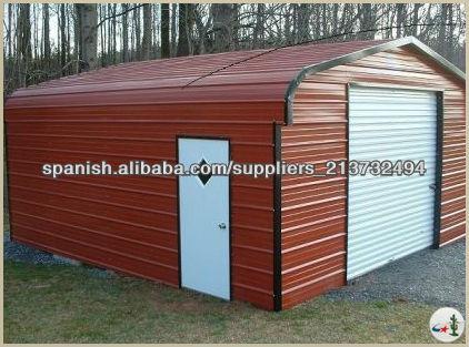 garajes y cobertizos met licos