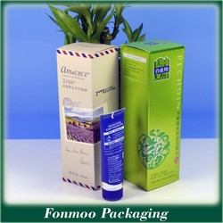 Manufacturer cosmetic paper box packaging / cosmetic gift set packaging box