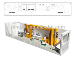 pre assembled hous/prefab container office/prefab container homes
