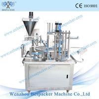 automatic nespresso capsule coffee filler sealer machine