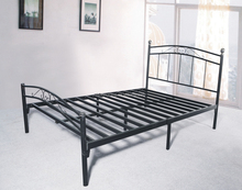 50mm thickness ,Black Queen size bed frame, model 7312Q