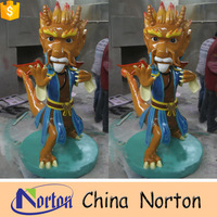 dragon resin statues , animal sculpture ,chinese dragon resin statue NTMS382R