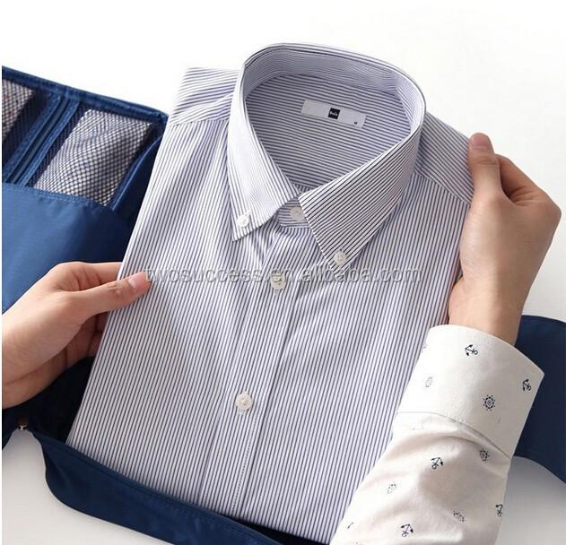 travel bag with shirt organizer