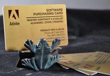 meiqing Golden inkjet pvc card sheet /high quality printing