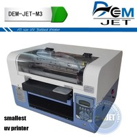 uv logo printing machine for gold foil ,aluminum foil printer