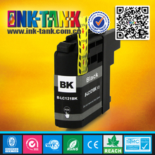 LC121 black ink cartridge,compatible brother LC121 BK for use in brother DCP / MFC all-in-one inkjet printer